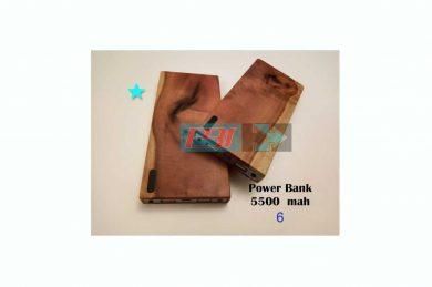 باکس پاور بانک چوبی